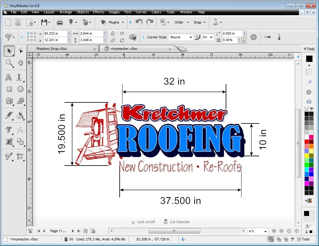 Vinyl Cutting Hobby Software Cutter Signage Plotter
