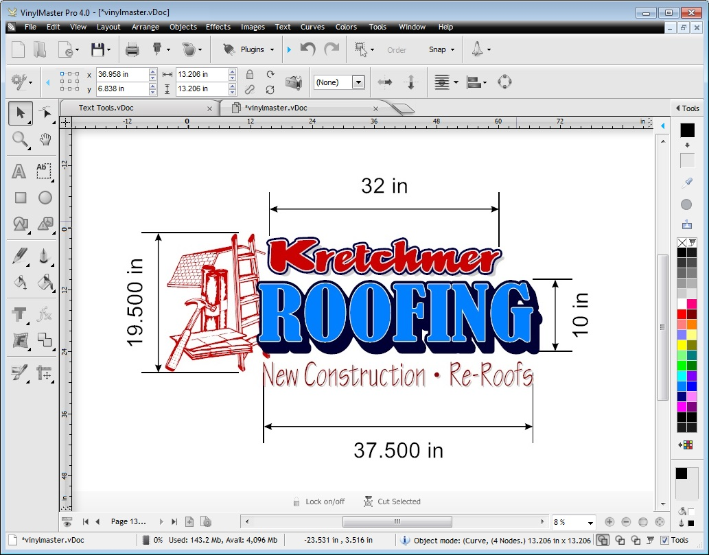 Sign Design Vinyl Cutting Plotting Software VinylMaster Pro - A basic guide to vinyl signs